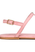Studded sandals - Light pink - Ladies | H&M CN 3